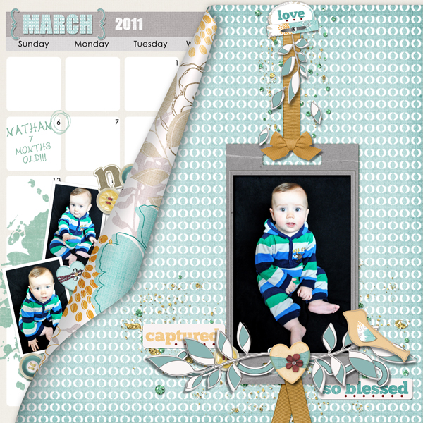 Layout by Charlene Crowder product listed below