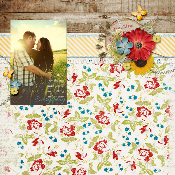 """Everything"" Layout By Angie Briggs (product listed below)"