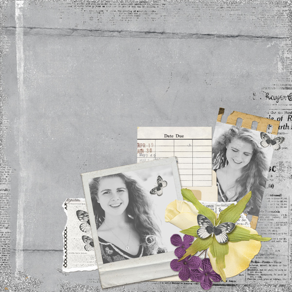 layout using Perfection Paper Super Mini