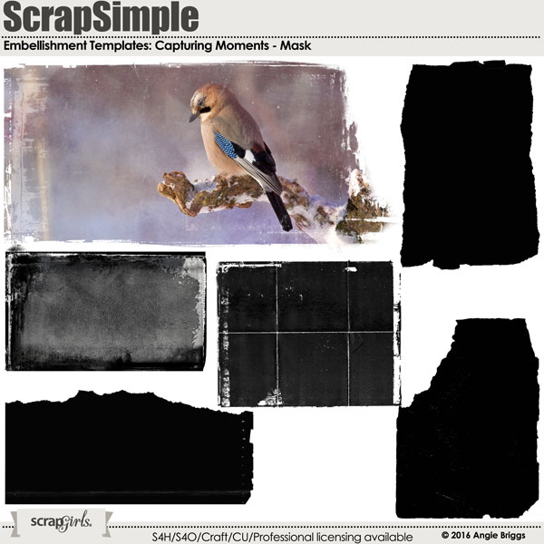 ScrapSimple Embellishments Templates