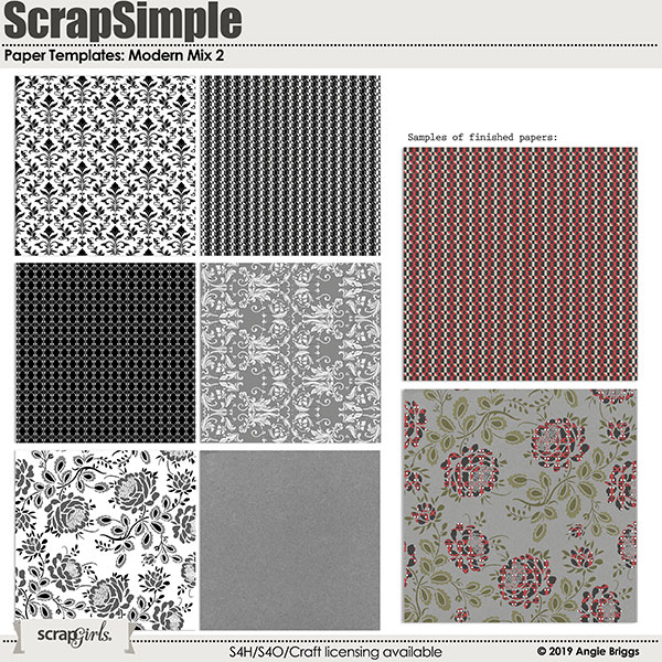ScrapSimple Brush Set