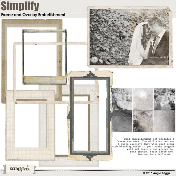 Simplify Frame Embellishment Mini