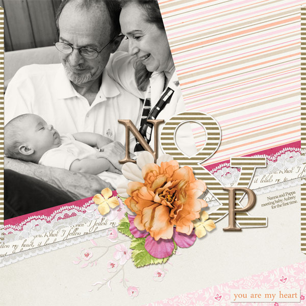 layout using Wonderful You Collection Biggie