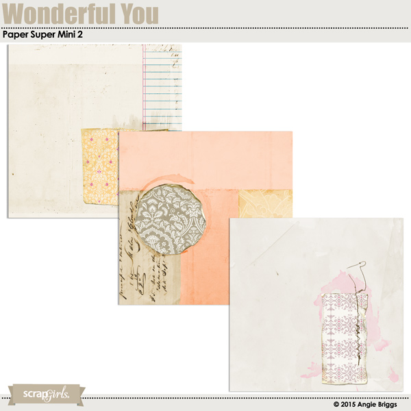 also available Wonderful You Paper Super Mini 2 (linked below)