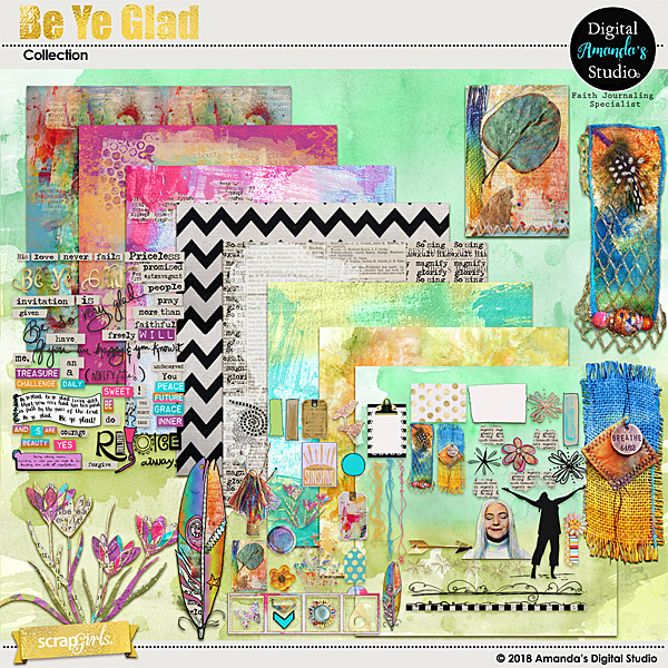 Be Ye Glad Faith Journal Collection
