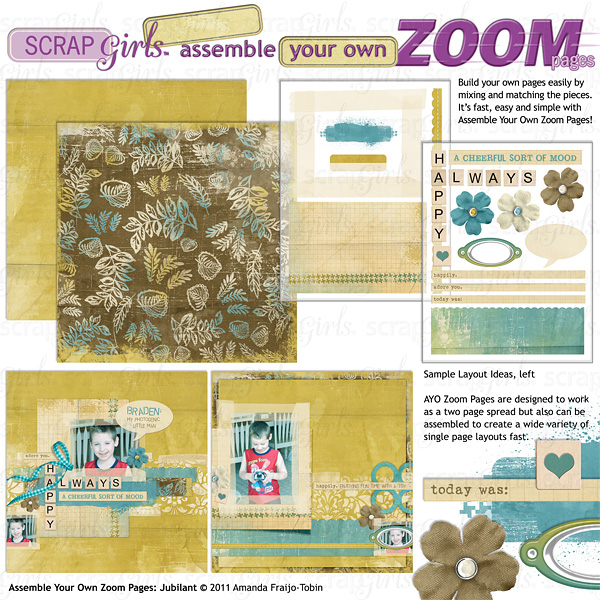 Assemble Your Own Zoom Pages: Jubilant