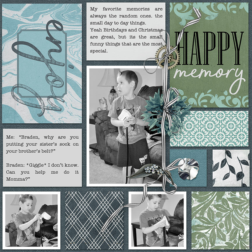 Project Life by AFT Designs - Amanda Fraijo-Tobin #scrapbook #memorybook #photoediting #projectlife