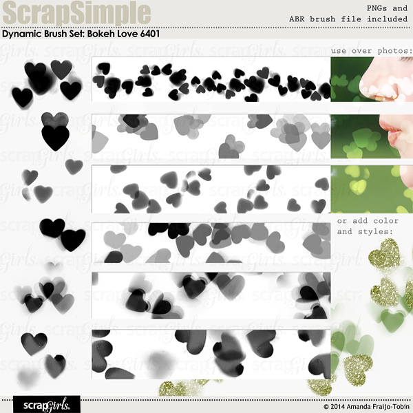 "Sold Separately <a href=""http://store.scrapgirls.com/dynamic-brush-set-bokeh-love-6401-p30384.php"">Brush Set: Bokeh Love</a>"