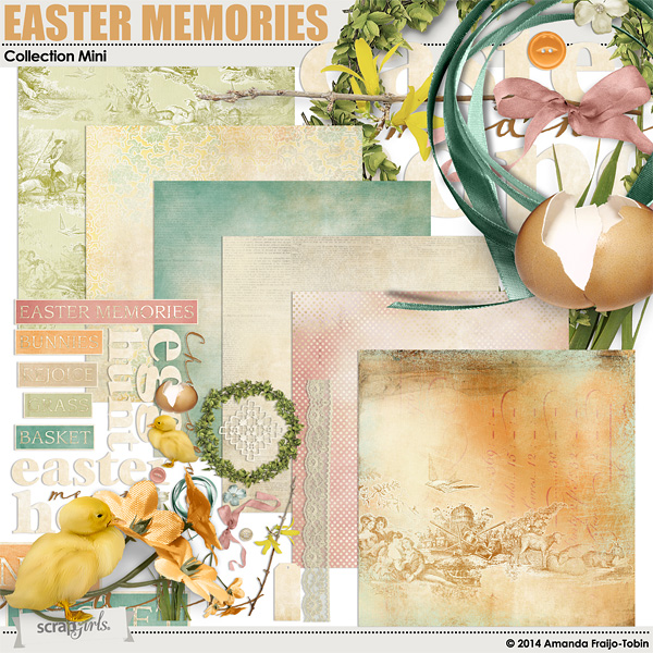 Easter Memories Collection Mini