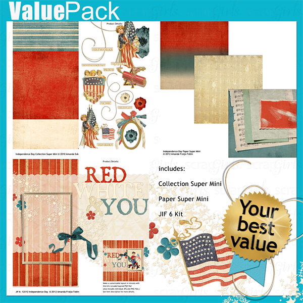 Value Pack: Independence Day