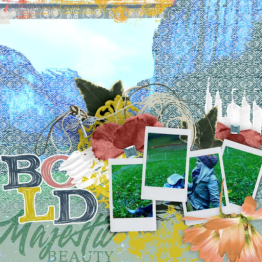#digitalscrapbooking layout by AFT Designs - Amanda Fraijo-Tobin using SS Embellishment Templates: Instant Frame Stax