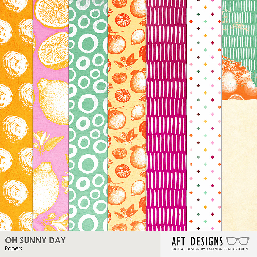 Oh Sunny Day.Oh Sunny Day Digital Scrapbooking Kit By Aft Designs At