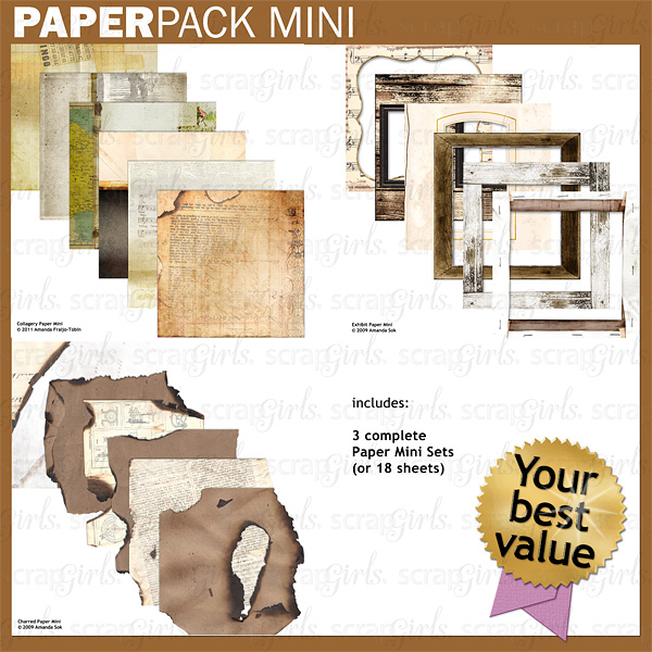 Paper Pack Mini: Collagery