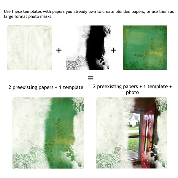 Examples of how to use Paper Templates