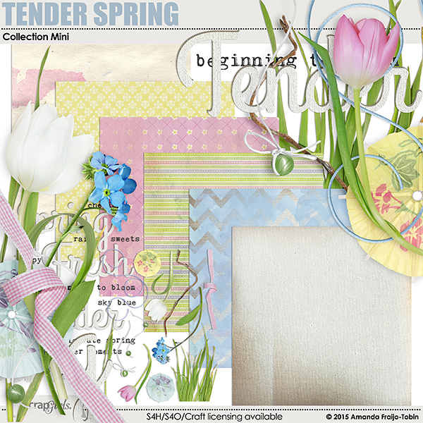 Tender Spring Collection Mini