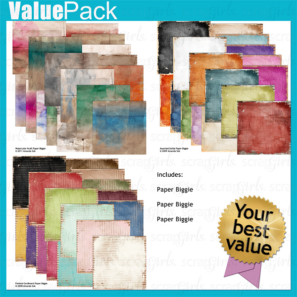 Value Pack: Artsy Papers