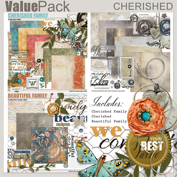 Value Pack: Cherished Family