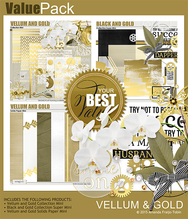 "Sold Separately <a href=""http://store.scrapgirls.com/value-pack-vellum-and-gold-p31888.php"">Value Pack: Vellum and Gold</a>"