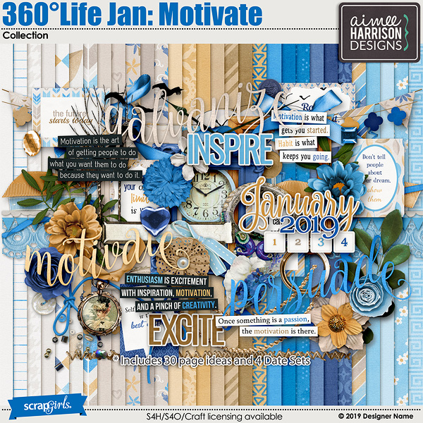 360Life Jan Motivate Collection