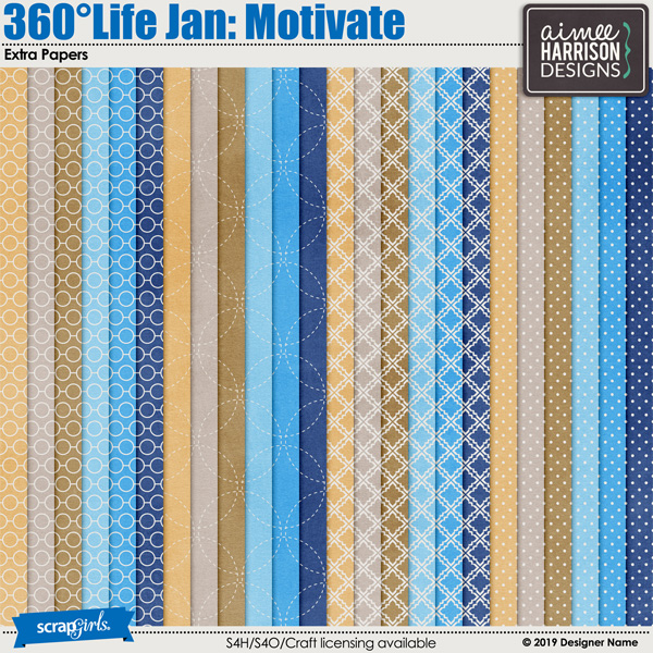 360Life Jan Motivate Extra Papers