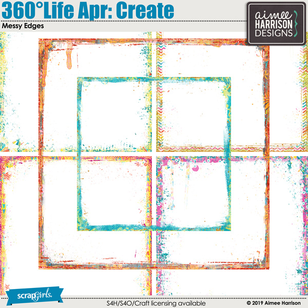 360°Life Apr: Create Messy Edges