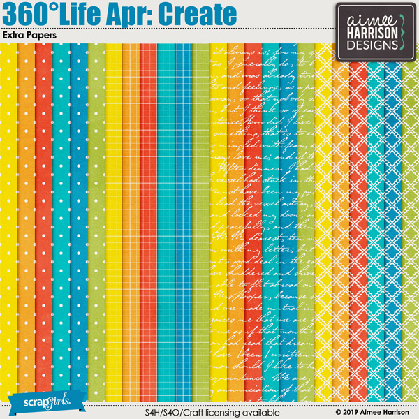 360°Life Apr: Create Extra Papers