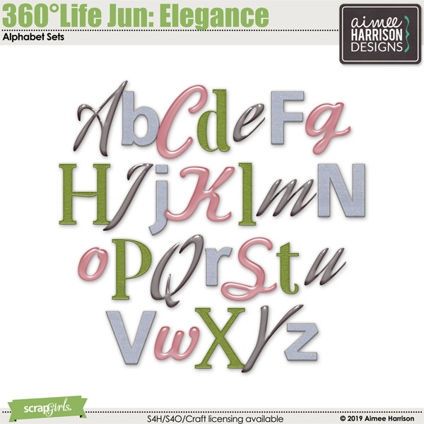 360°Life June: Elegance Alpha Sets