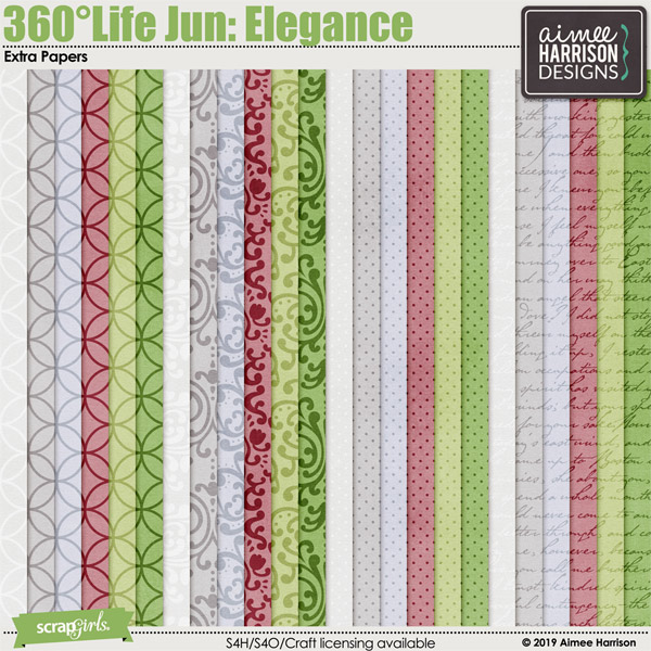 360°Life June: Elegance Extra Papers