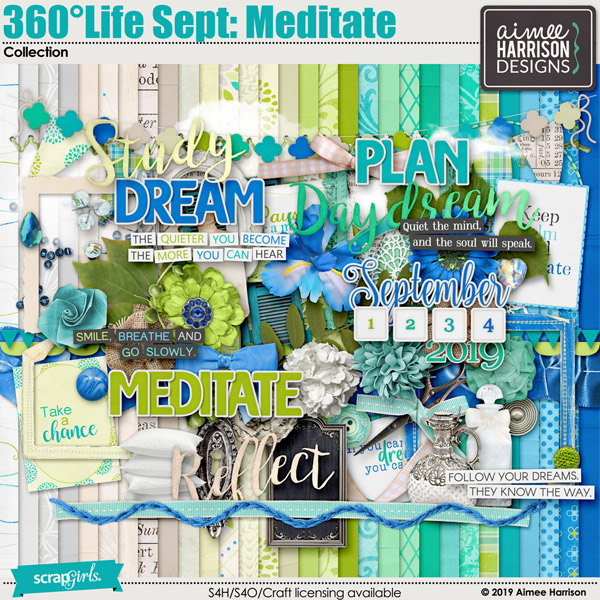 360°Life Sept: Meditate Collection