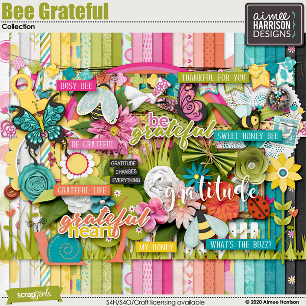 Bee Grateful Collection