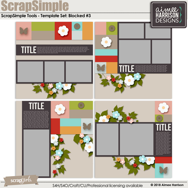 Blocked #3 Template Sets