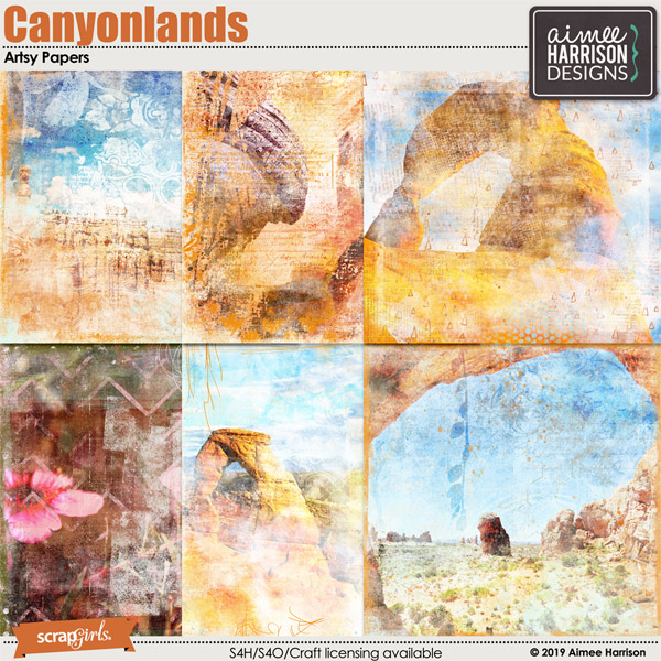 Canyonlands Artsy Papers
