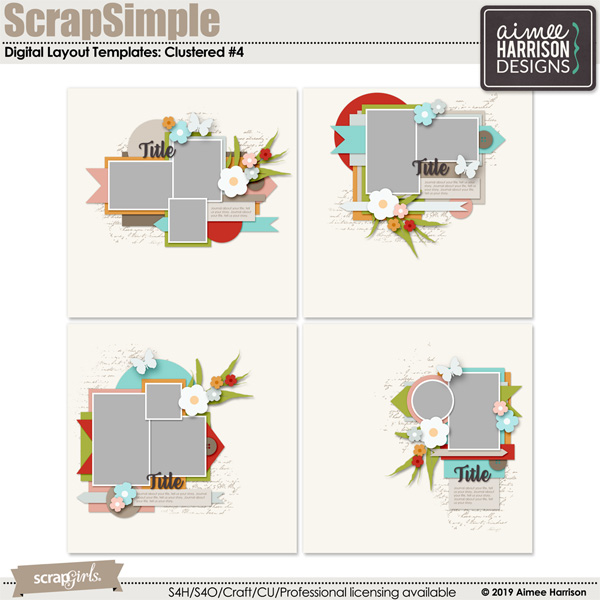 Clustered #4 Templates
