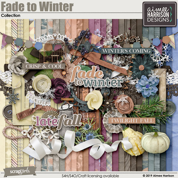 Fade to Winter Collection