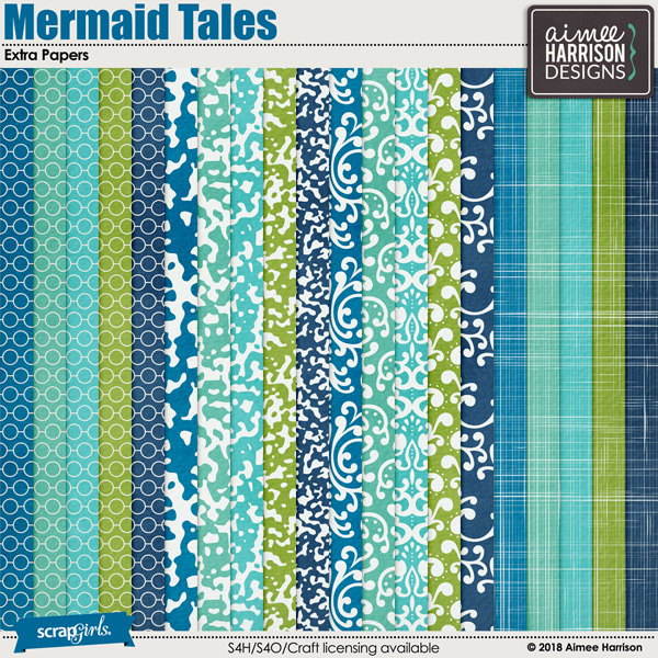 Mermaid Tales Extra Papers