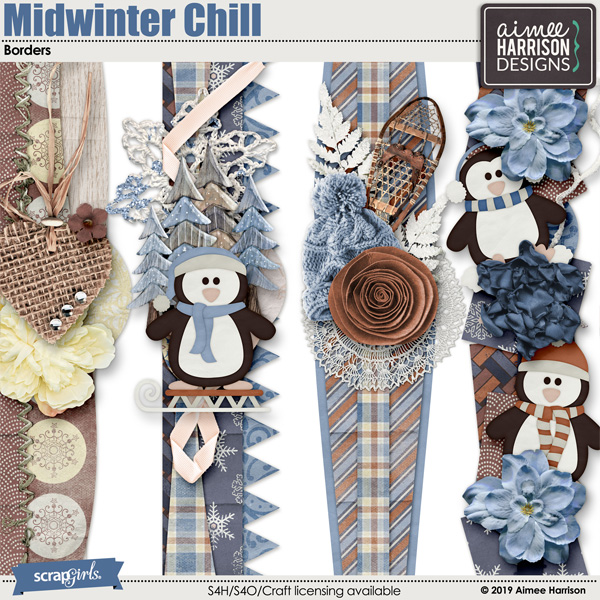Midwinter Chill Borders