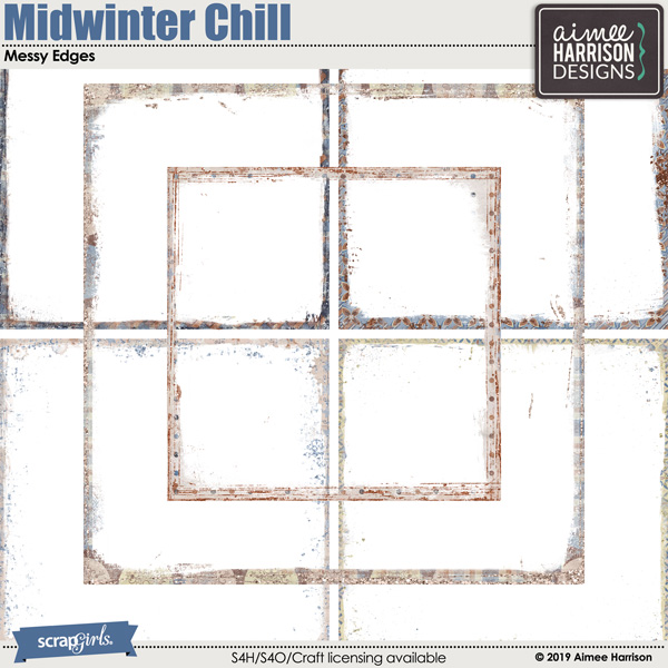 Midwinter Chill Messy Edges