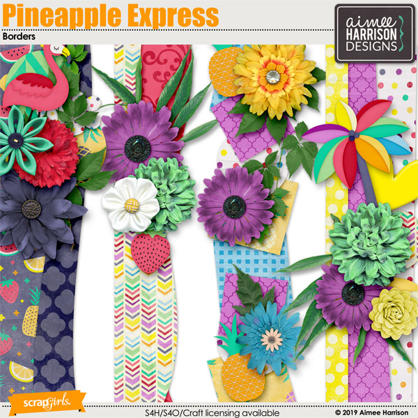 Pineapple Express Borders