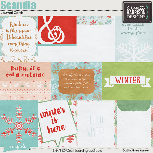 Scandia Journal Cards