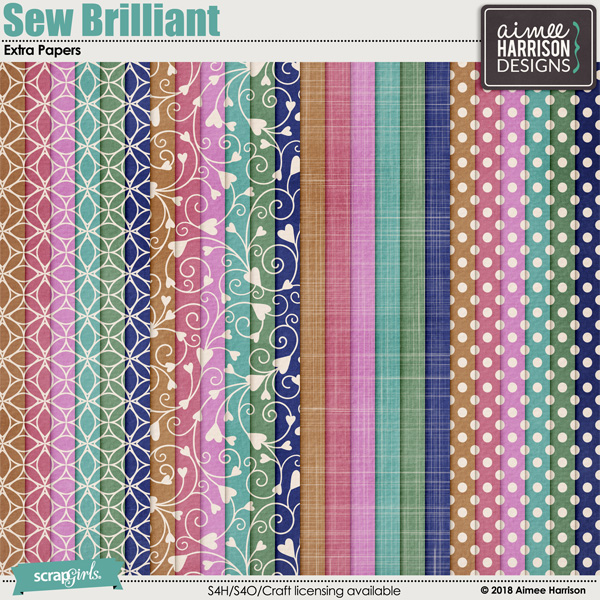 Sew Brilliant Extra Papers