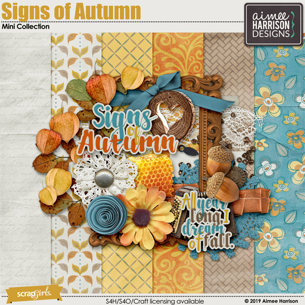 Signs of Autumn Mini Collection