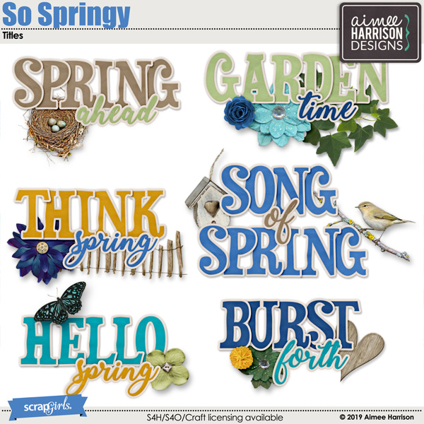 So Springy Titles