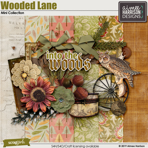 Wooded Lane Mini Collection