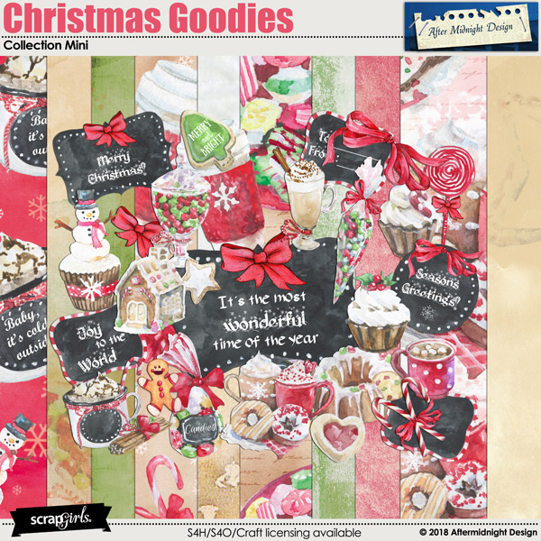 Christmas Goodies Collection Mini by Aftermidnight Design