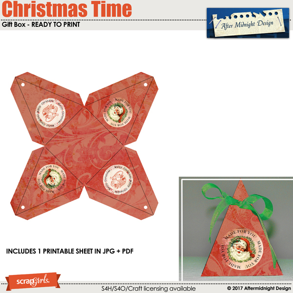 Christmas Time Box 4 by Aftermidnight Design