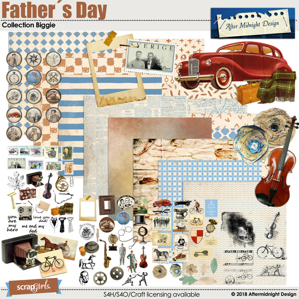 Father´s Day Collection Biggie by Aftermidnight Design