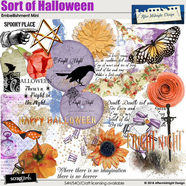 Sort of Halloween Emb Mini by Aftermidnight Design
