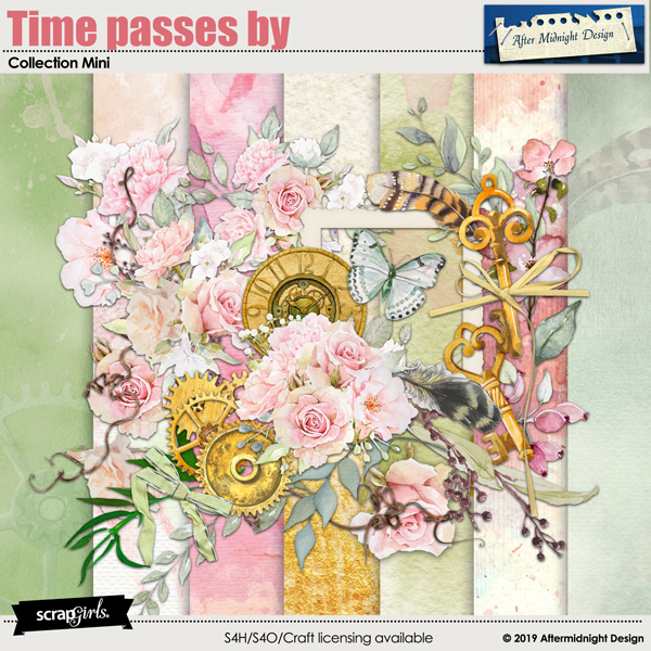 Time passes by Collection Mini by Aftermidnight Design