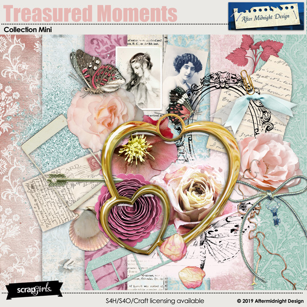 Treasured Moment Collection Mini by Aftermidnight Design