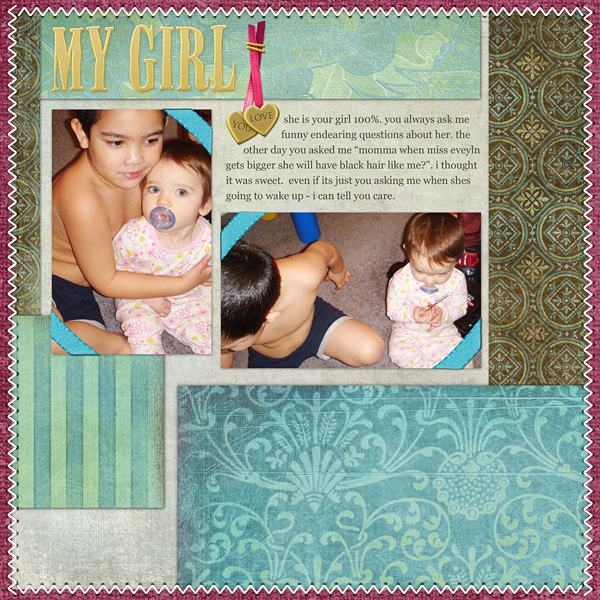 Layout by Amanda S using Dynamic Brush Set: Stitching 6401, All About Marriage Collection, SS Paper Templates: Not So Solid